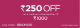 Bigbasket Axis Bank Offer, [Rs.250 OFF] on Cards For New User in 2020