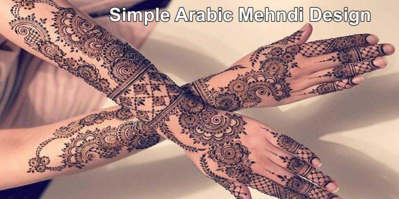 50 Easy & Simple Arabic Mehndi Design   Best Mehndi Designs 2020