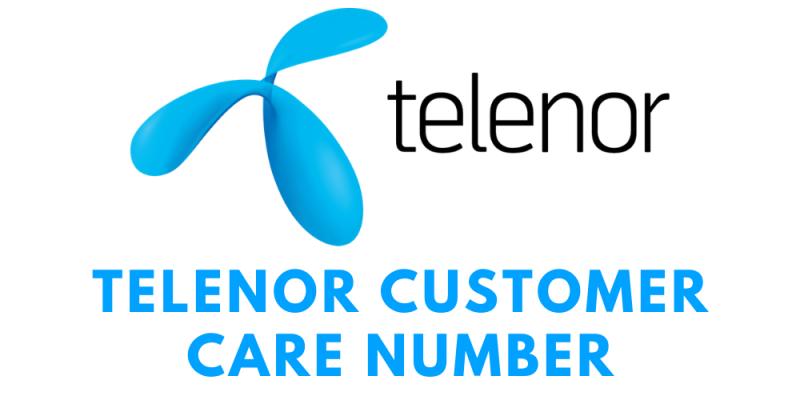 Telenor Customer Care Number: Telenor Toll-Free Helpline No. & Complaint Number