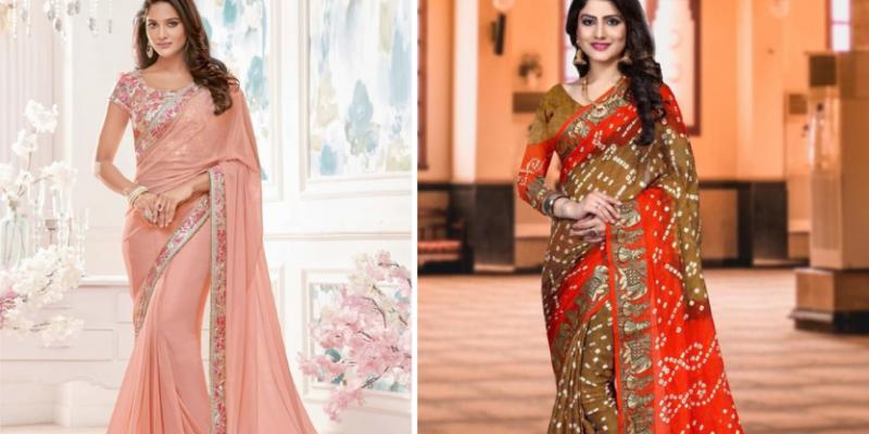 Best Karwa Chauth Special Saree Collection 2020