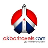 Akbar Travels HDFC Offer [200 OFF] on Domestic Flight booking with Card