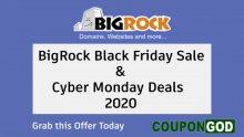 BigRock Black Friday Deals & Cyber Monday Sale in 2020
