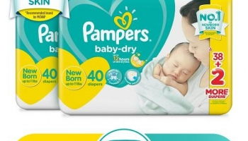 Diapers Upto 30% off, online coupons, large size babies sale by Flipkart