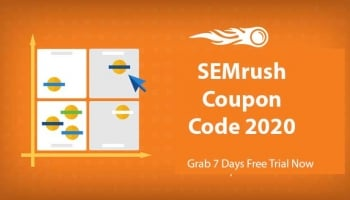 SEMrush Coupon Code 2020 – How to Get 7 Days Free PRO Account
